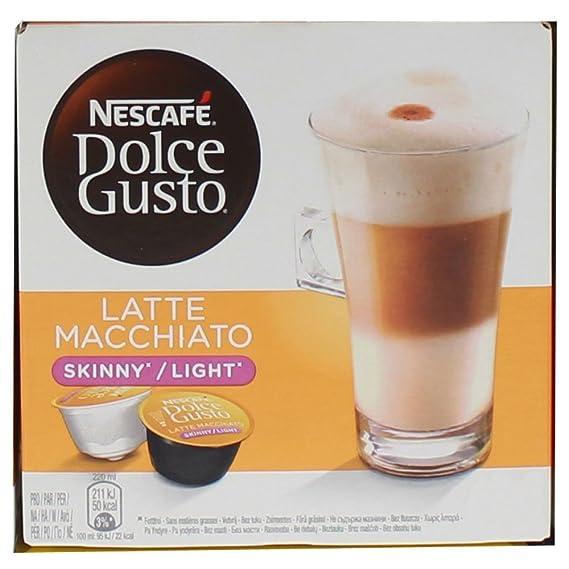 80 x Nescafé Dolce Gusto Latte Macchiato Light, Cápsulas de Café, Pocas Calorías: Amazon.es: Hogar