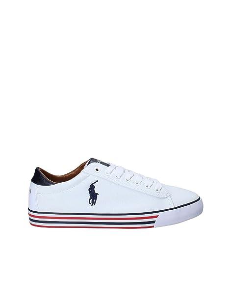 Polo Ralph Lauren - Zapatillas de Deporte de tela Hombre: Amazon ...