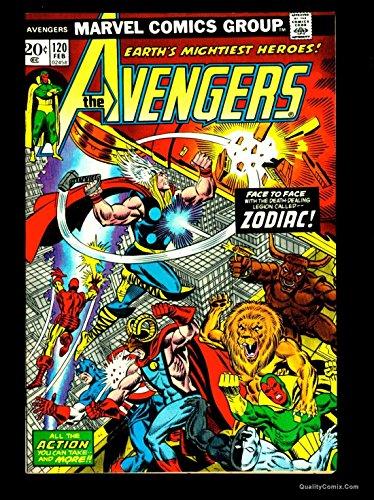 Avengers #120 NM- 9.2