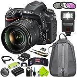Nikon D750 DSLR Camera with Nikon 24-120mm f/4G Lens Beginner Bundle
