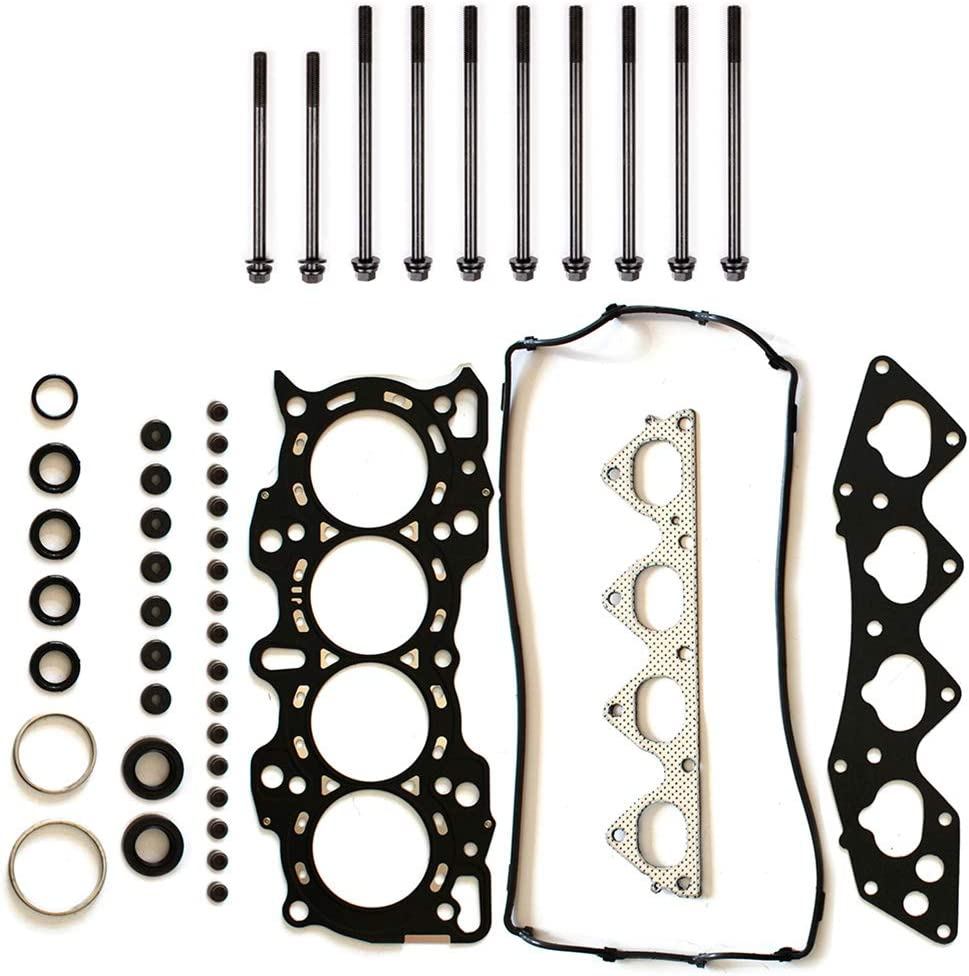 TUPARTS Automotive Head Gasket Head Bolts kit Replacement for Honda CR-V 2.0 L