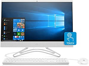 HP 24-F 23.8-Inch Full HD IPS-WLED Touch Screen AMD Ryzen 3 3200U 8GB 1TB HDD All-in-One Desktop PC (Renewed)