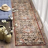 Safavieh Bijar Collection BIJ648D Traditional Oriental Vintage Brown and Rust Runner (23 x 8)