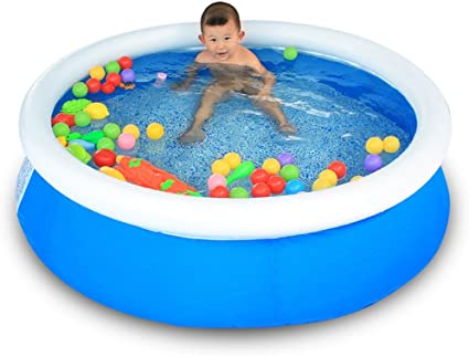 Sunhai& & - Piscina Hinchable para la Familia, protección del Medio Ambiente, Tubos Plegables de PVC, Piscina de natación para niños de 150 a 40 cm: Amazon.es: Hogar