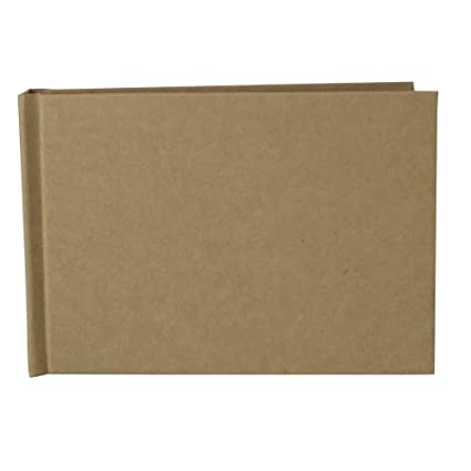 amazon com linkedwin scrapbook with thick kraft paperboard all diy