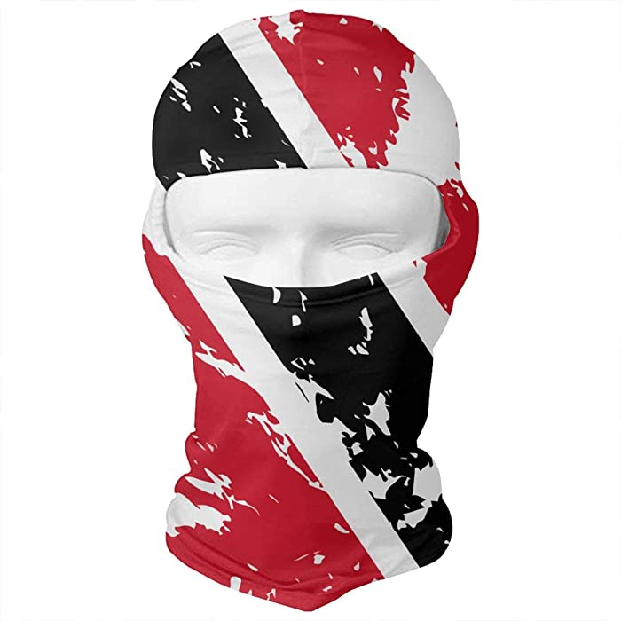 WD rain Dirty Trinidad and Tobago Flag Balaclava Face Mask Headwear Helmet  Liner Gear Full Face Mask c0a6606f4
