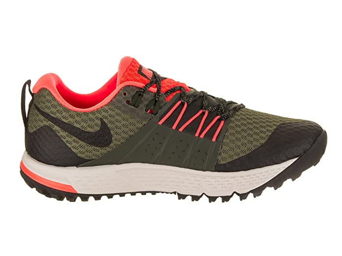 c4eaa176ff Amazon.com | Nike Air Zoom Wildhorse 4 nk880565 208 (9 D US) Olive/Black |  Fashion Sneakers