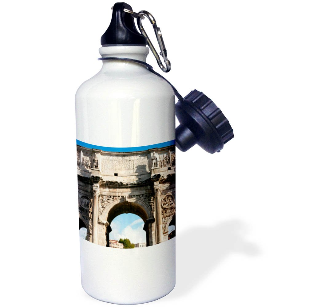 3dRose Danita Delimont - Ruins - Arch of Constantine, Arco di Costantino, Rome Latium, Italy, Europe - 21 oz Sports Water Bottle (wb_277633_1)