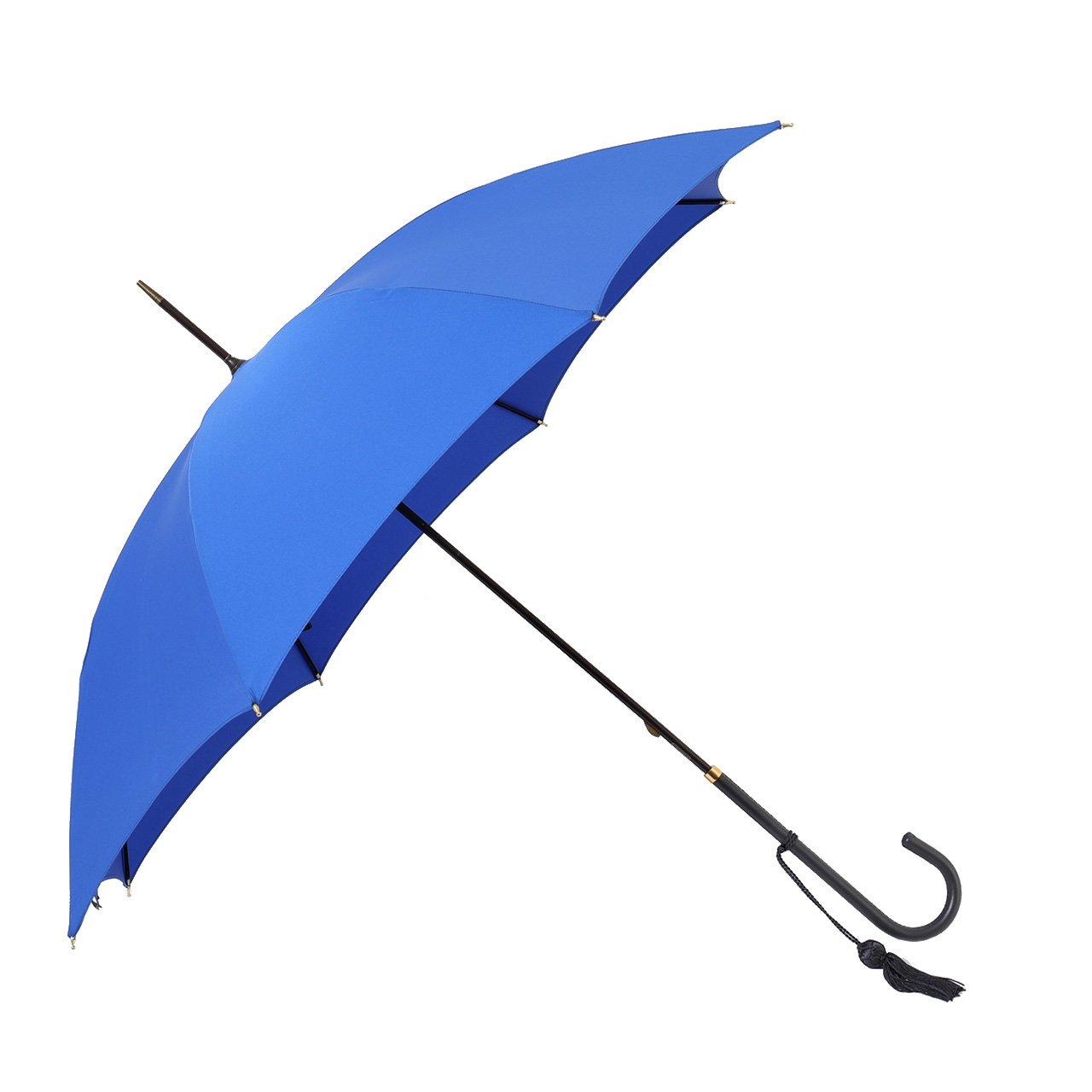 FOX UMBRELLAS フォックスアンブレラ WL1 SLIM LEATHER 細革巻 ハンドル 雨傘 パラソル 雨具 タッセルチャーム付き カラ [並行輸入品] B07BQRCT4C /|545/ROYAL-BLUE 545/ROYAL-BLUE /