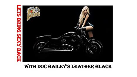 Amazon.com: Doc Baileys Leather Detail Kit Black - Restore Your Clear Leather and Vinyl With This Leather Cleaning Product - Condition, Clean, ...