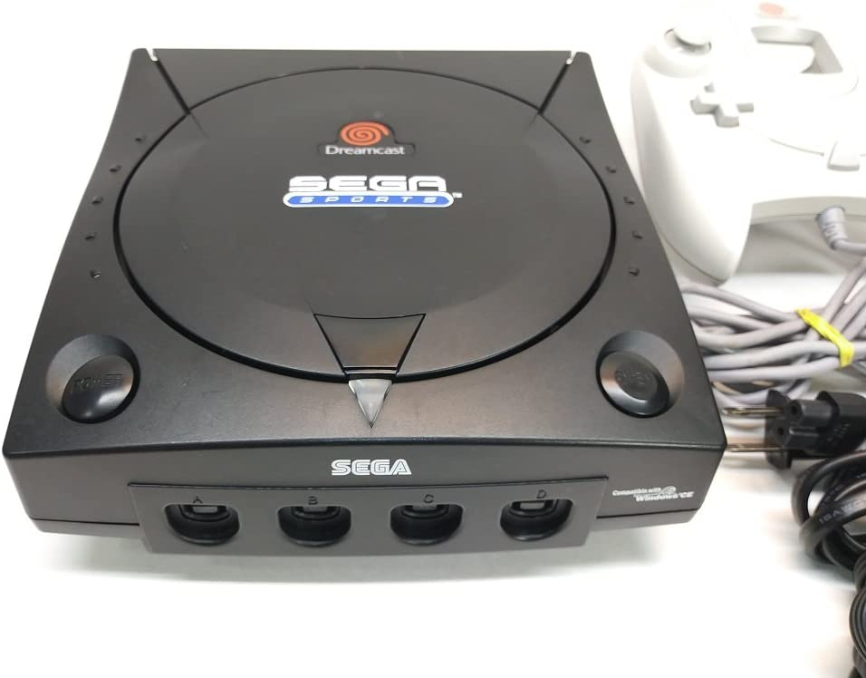 Amazon com: Sega Dreamcast System - Video Game Console (Black Sega