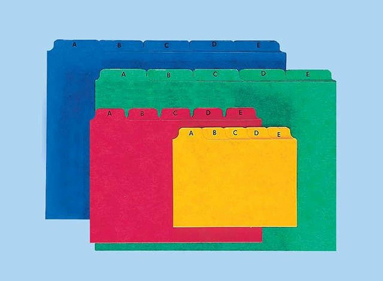 A6 Pagna 26251-02 Separatore leggero in cartoncino presspan blu