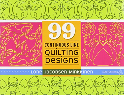 - 99 Continuous Line Quilting Designs