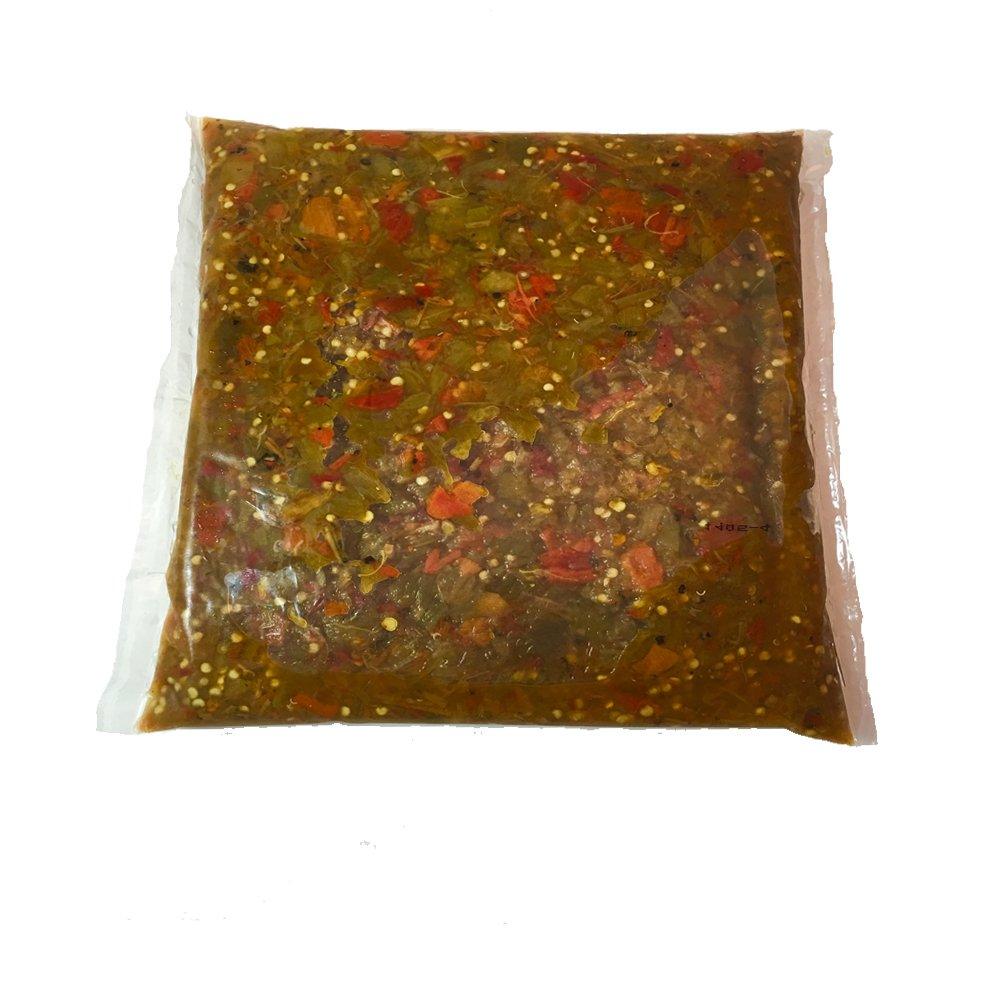 Christmas Roast Green and Red Chile Mix, HOT, 10lbs, Frozen