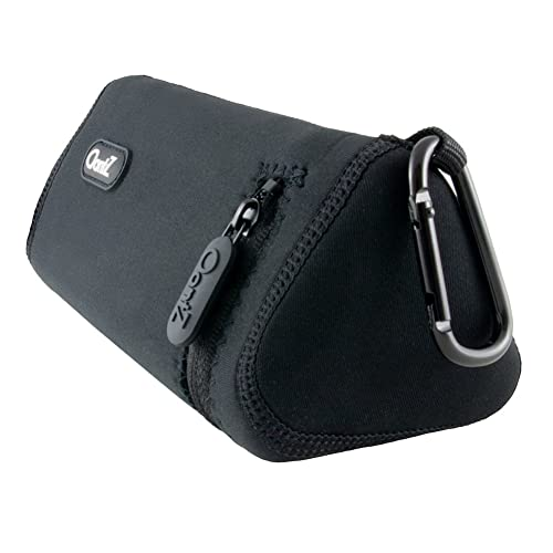 OontZ Angle 3 Plus/OontZ Angle 3 Ultra Bluetooth Speaker Official Carry Case, Neoprene with Aluminum Carabiner, Reinforced Zipper, by Cambridge SoundWorks [NOT for OontZ Angle 3]