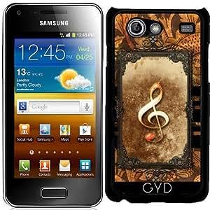 Funda para Samsung Galaxy S Advance (i9070) - Música, Clef by nicky2342