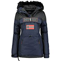 Geographical Norway - Parka para mujer con capucha Bruna Lady