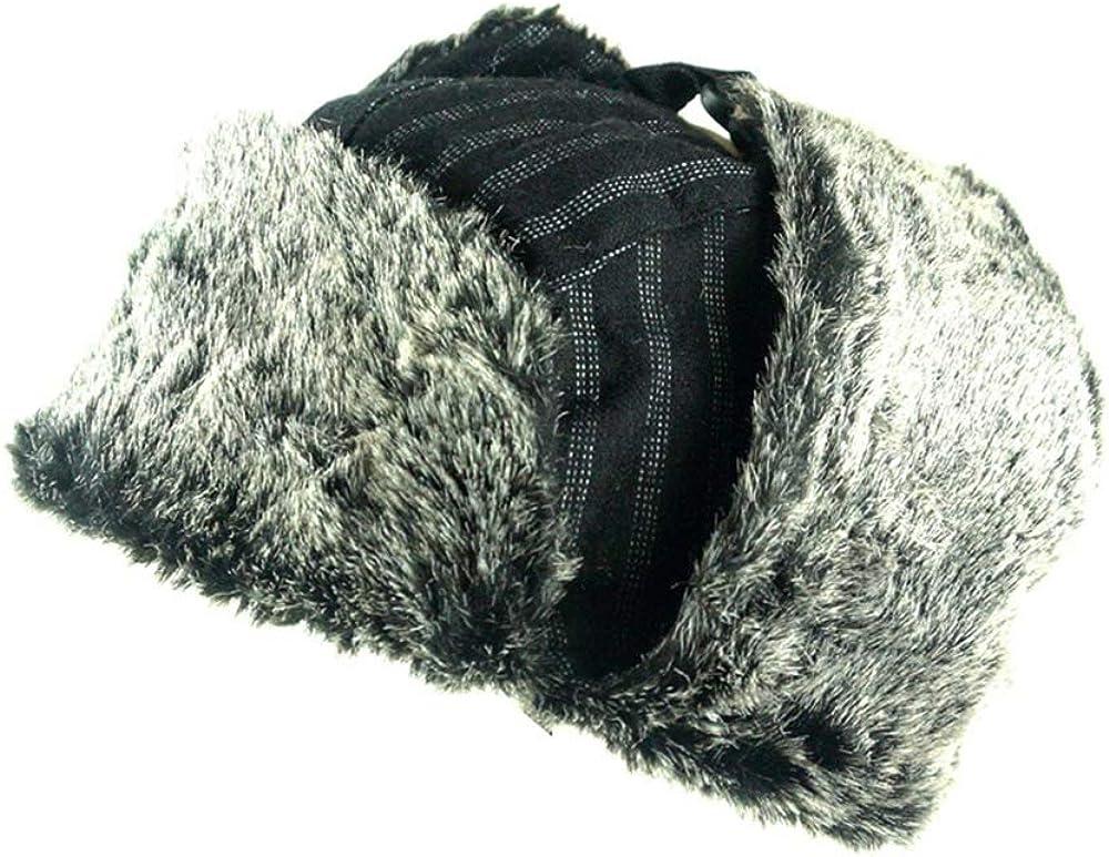Invierno Gorros de Aviador con Orejeras a Prueba de Viento Respirable Sombrero trampero para Caza esqu/í patineta Jonact Sombrero de Bombardero C/álido Unisexo Adulto
