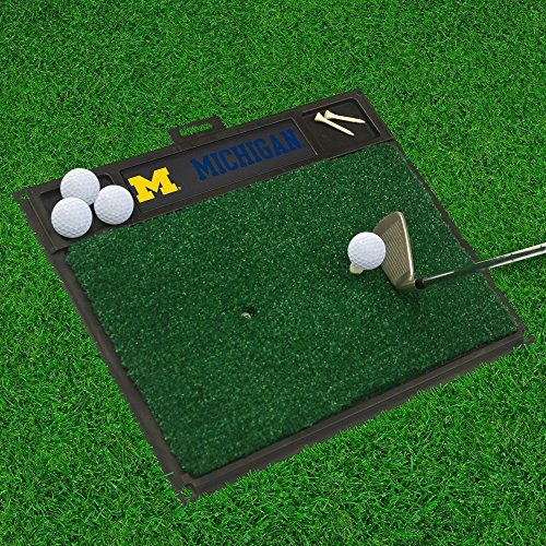 FANMATS 15509 University of Michigan Golf Hitting Mat ()