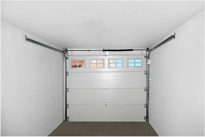 MSW Puerta de Garaje Seccional GD2580 White (Abertura 2.500 x 2.125 mm, Juntas resistentes, 4 Secciones, 4 Ventanas) Blanco: Amazon.es: Bricolaje y herramientas
