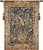 Tapestry, Extra Large, Tall - Elegant, Fine & Wall Hanging - Peacock (Tawoos), H74xW50