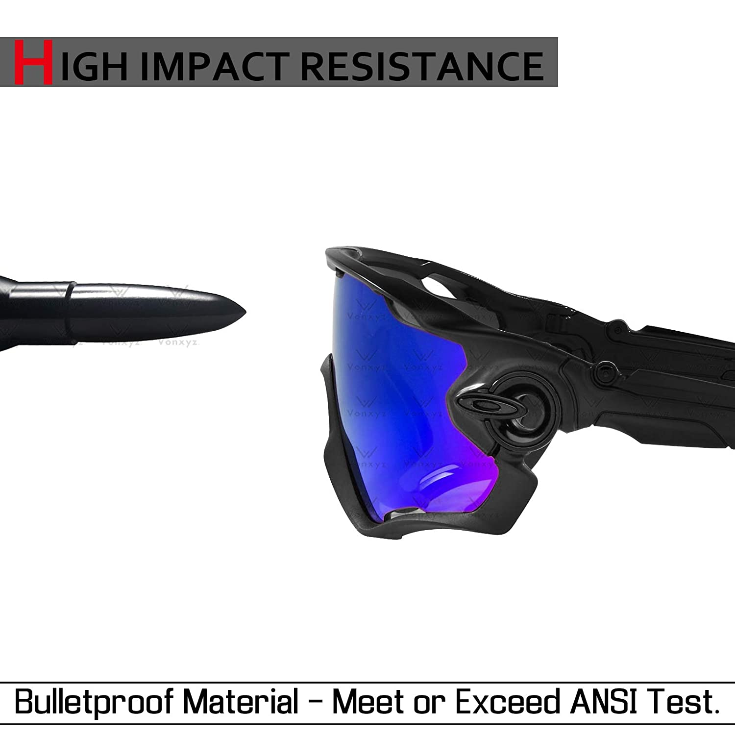 Vonxyz Replacement for Spy Optic Dirty Mo Sunglass Multiple Options