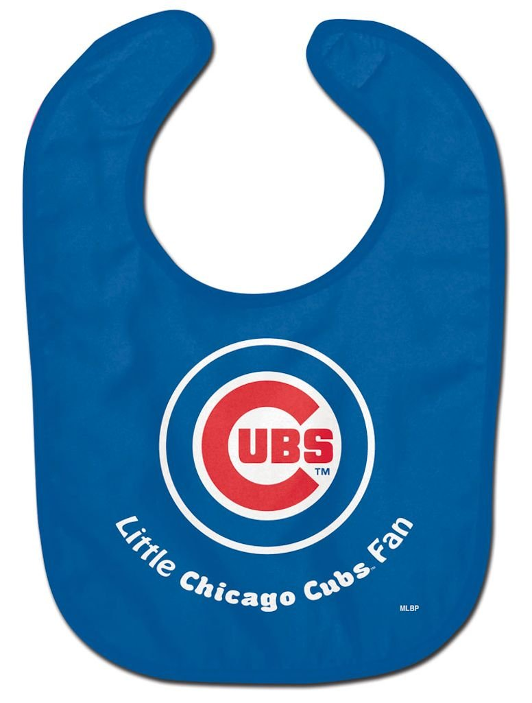WinCraft MLB Chicago Cubs WCRA2018314 All Pro Baby Bib