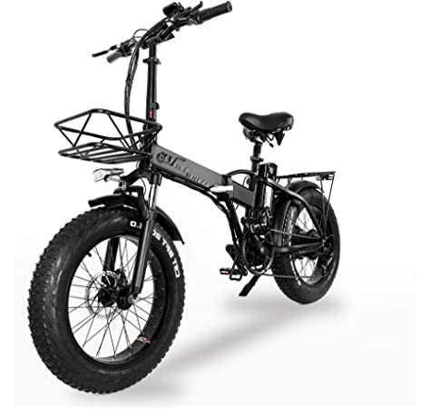 XXCY Bicicleta Eléctrica Plegable De 20 Pulgadas, Bicicleta ...