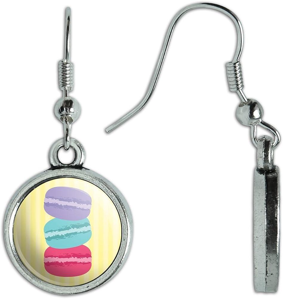Novelty Dangling Drop Charm Earrings Food Drink Bacon Coffee