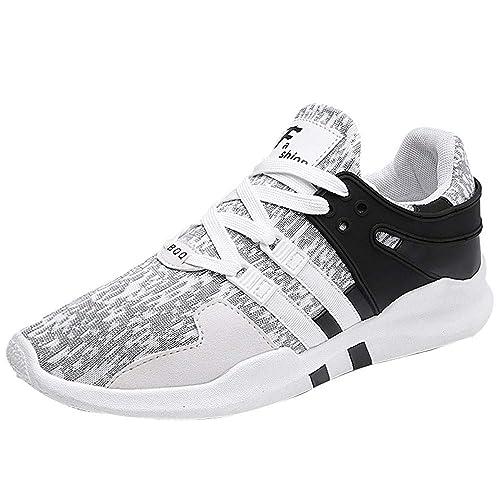 Adolescentes Adultos Moda Zapatillas Hombres 2018 Zapatos Deporte Running Zapatos para Correr Deportivas Gimnasio Sneakers Deportivas Padel Transpirables: ...