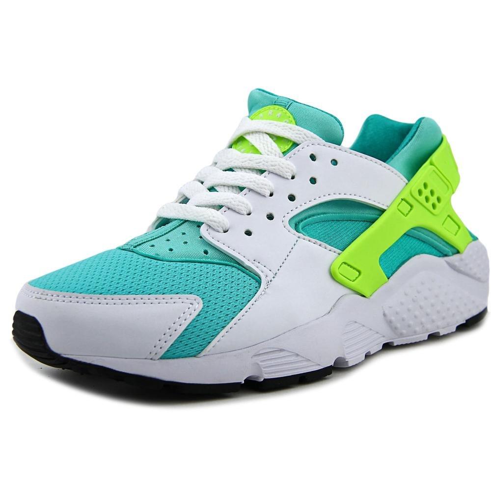 Nike Huarache Run (GS) Youth US 5.5 White Running Shoe