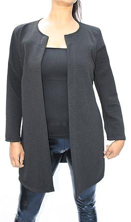 Jygles - Chaqueta de traje - Blusa - para mujer negro Talla ...