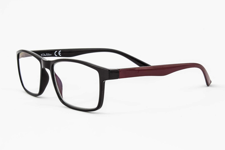 Gafas de lectura con iman para sol - Gafas de presbicia - Vista cansada graduadas - Unisex - Mujer - Hombre - 6016 (C2, 4.00 Dioptrías)