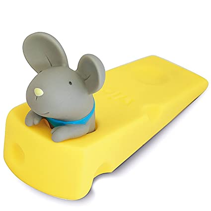 Charmant Cute Mouse Door Stop, Decorative Door Stopper Wedge Grey Mouse Gift  Doorstop For Christmas Decoration
