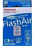 TOSHIBA(東芝) 無線LAN搭載SDHCカード(FlashAir) Class10 16GB 海外パッケージ品 SD-R016GR7AL01