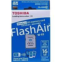 Toshiba SD FA Class 10 16GB Wireless SDHC Card