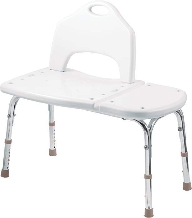 The Best Moen Dn7065 Home Care Transfer Bench Glacier