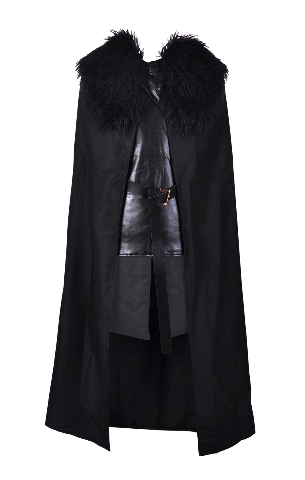 Crystal Dew Jon Snow Knights Watch Cosplay Costume for Man and Child
