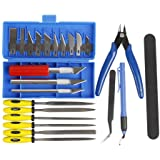CCTREE 23 Piece 3D Print Tool Kit,3D Print Accessories for Cleaning, Finishing and Printing 3D Prints,Includes Debur Tool, Cleaning and Removal Tool 3D Printer Tool Set