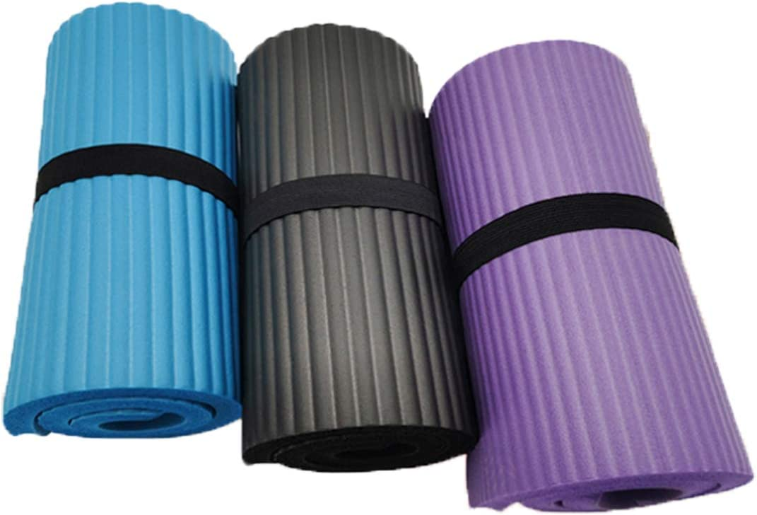 Everbeauty Yoga Mat 1/2 Inch Thick Non Slip Yoga Knee Pad Cushion Thick Knee Pads for Yoga Exercises EYD007
