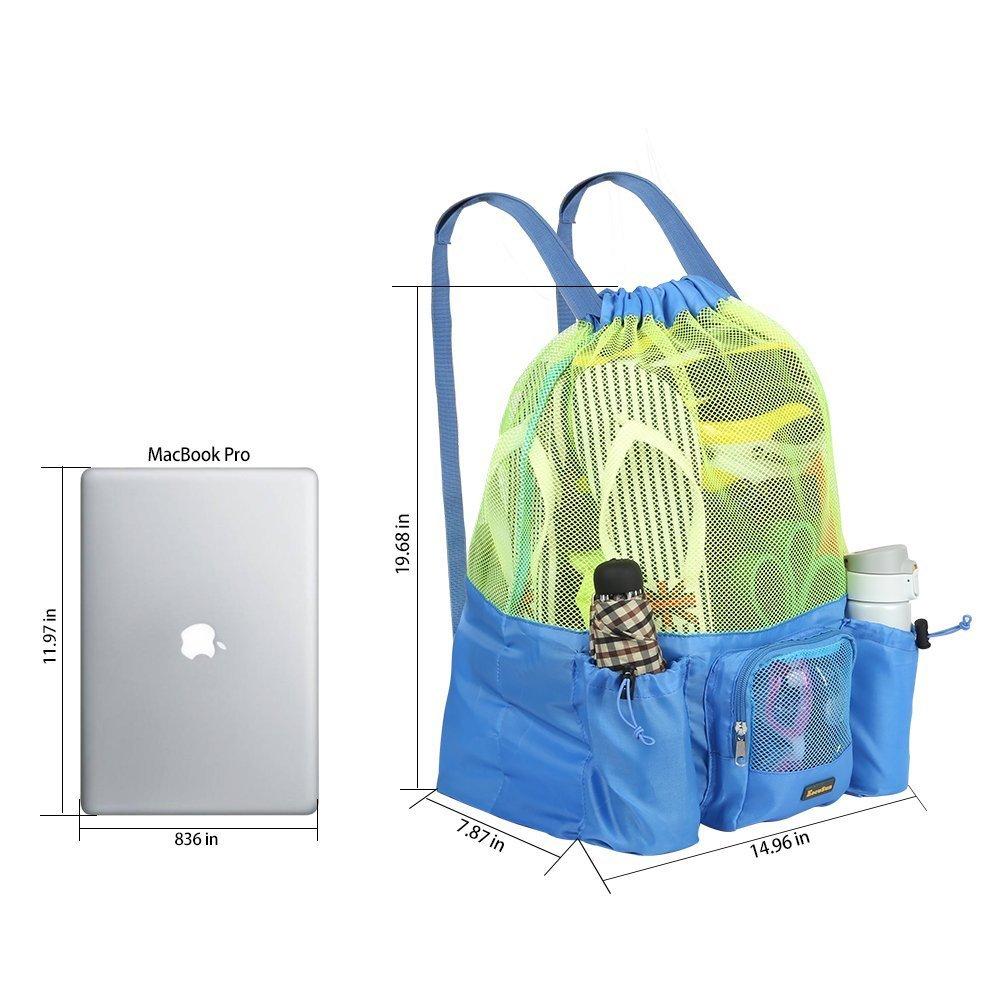 e5dc6003d2 EocuSun Large Mesh Swimming Bag