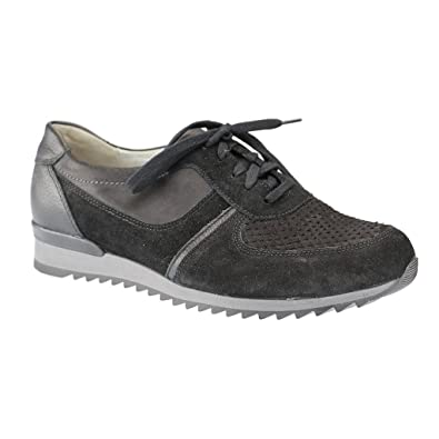Chaussures Waldläufer Hurly noires Casual femme 6F2taqgh