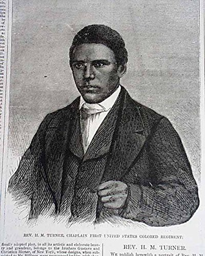 The First African American Chaplin In The U S  Army   Harpers Weekly  December 12  1863   Guerrilla Warfare   The Army Of The Potomac