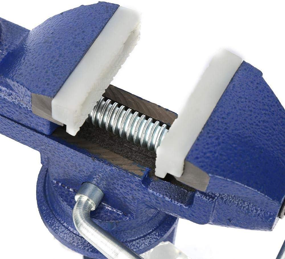 tornillo de banco de abrazadera de aleaci/ón mini anticorrosi/ón Equipo para mesa de procesamiento de precisi/ón Tornillo de banco giratorio giratorio de 360 /° tornillo de banco de mesa