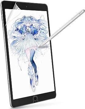 BENKS Protectora de Pantalla para iPad Pro 12.9 2018 Protectora Pantalla de Pel/ícula Compatible con Apple iPad Pro 12.9 Pulgadas 2018 Tablet Mate Anti reflejante Escribir y Dibujar con Apple Pencil