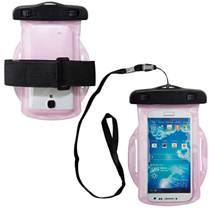 sports shoes ac6ca d397b Cellphone Waterproof Armband Bag Fit Sharp Aquos R2 Compact/BLU ...