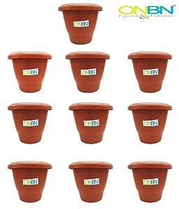 ONBN Flower pots for Garden and Living Room, Balcony, Gardening pots for Indoor and Out Door