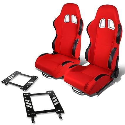 Excellent Amazon Com Pair Of Rs 007 Rd Bk Woven Fabric Reclinable Inzonedesignstudio Interior Chair Design Inzonedesignstudiocom