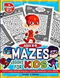 Maze Books for Kids 6-8 with Many Exercises & Puzzle Books for Kids ages 4-8: Maze Book for Enhancing Mental & Skillful Capabilities (Mazes Games Workbooks)