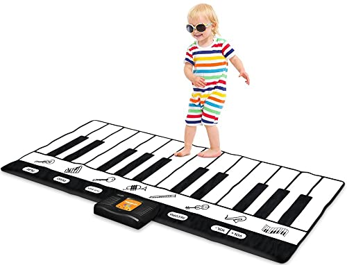 Piano Key Play Mat
